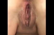 Chatte remplie de sperme par son amant