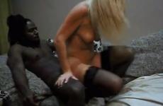 Première fois avec un black pour sa femme ukrainienne
