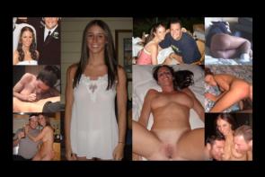 Des femmes mariées en mode de grosses salopes