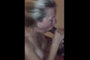 Sa femme teste pour la première une grosse bite de black
